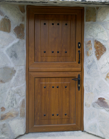 Obras realizadas vetenor - Puertas de aluminio doble hoja ...